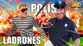 POLICIAS vs LADRONES en FORTNITE * PARTIDAS PERSONALIZADAS *