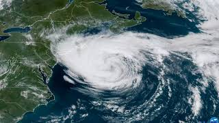 Tropical Storm Jose Churns off Massachusetts Coast