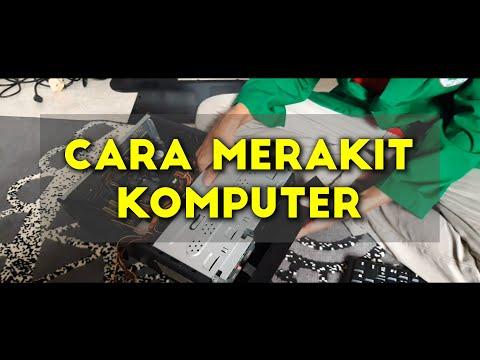 CARA MERAKIT KOMPUTER MUDAH & RAPI | SAMPAI PROSES INSTALASI WINDOWS & INSTALASI DRIVERNYA - PART 1