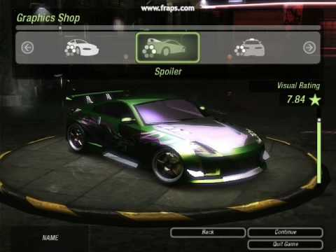 Need For Speed Underground 2 How To Make Rachel S Car Youtube