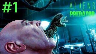 Ahora YO SOY EL ALIEN !!! | Aliens Vs Predator Campaña Alien #1 | #ALIENWEEK