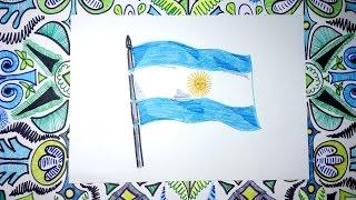 Video Dibuja la bandera de la República de la Argentina download MP3, 3GP, MP4, WEBM, AVI, FLV Juli 2018