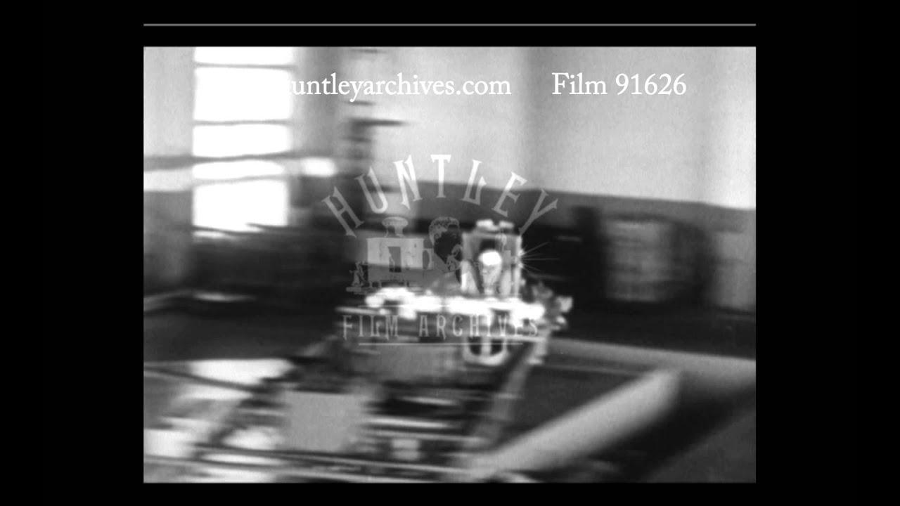 Cosmonaut Undergoing Centrifuge Testing 1960s
