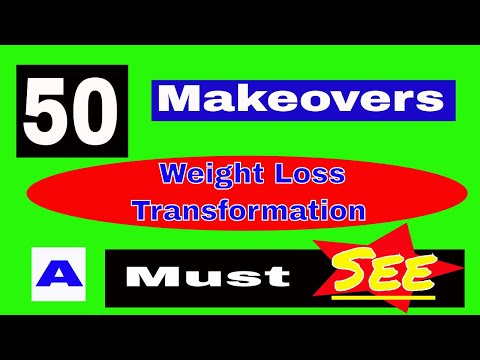 💪 Weight Loss Transformation | 50 must see makeovers