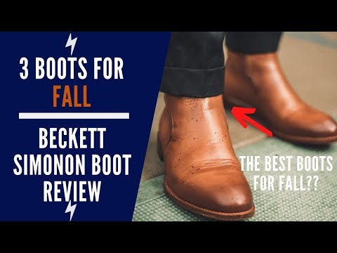 3 Boots For Fall   Beckett Simonon Boots Review