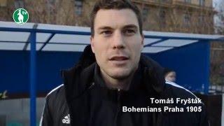 24. 1. 2016 - Bohemians Praha 1905 - FC Fastav Zlín 0:0 (0:0) 4:5 na penalty - pozápasové rozhovory