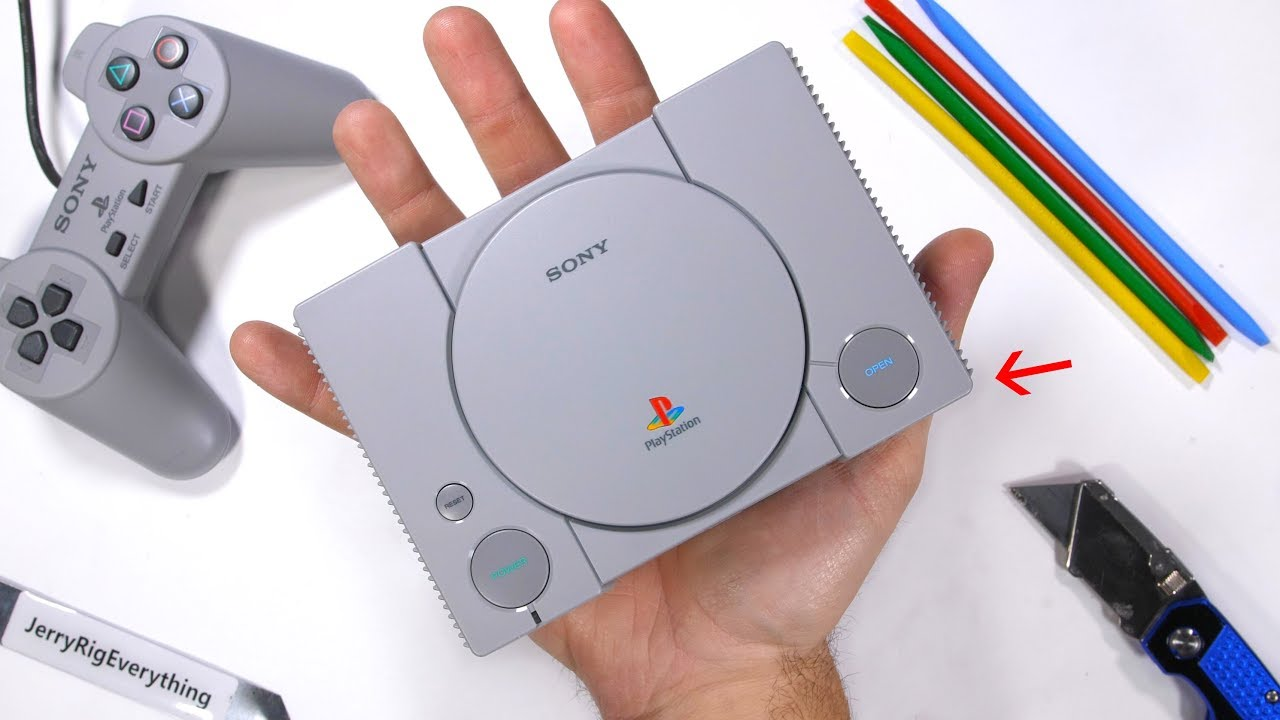 NEW PlayStation For ANTS?! - PlayStation Classic Teardown