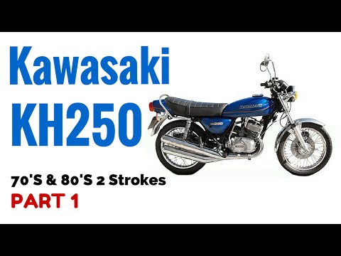 The Kawasaki KH250 Motorcycle Review 70's & 80's 2 Strokes Part 1