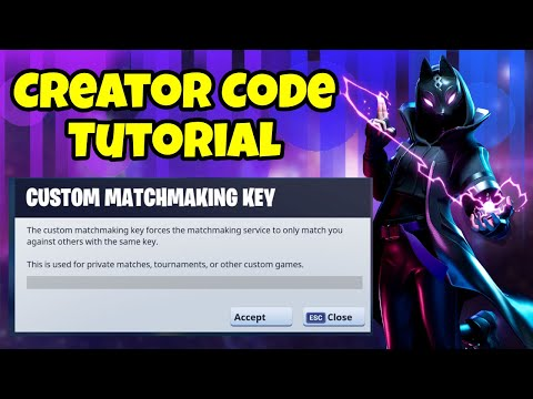 How To Create A Support A Creator Code In Fortnite