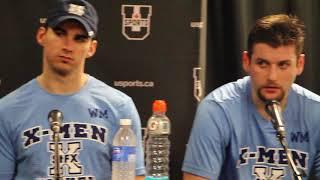 2018 U SPORTS Men's Hockey Championship - StFX pots game interview