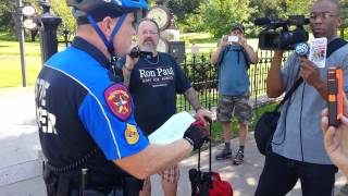Texas open carry illegal arrest.