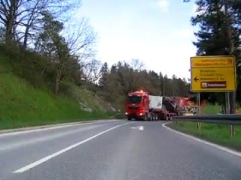 Schwertransport spedition koch ratshausen youtube for Koch ratshausen