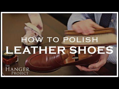 How To Polish Shoes | Leather Shoe Shine Tutorial