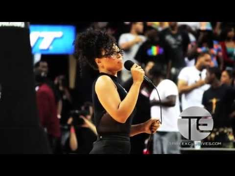 Elle Varner Performs US National Anthem & Talks Sophomore CD