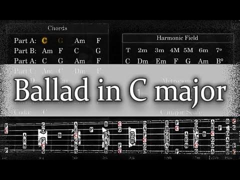 Backing Track - Ballad in C major