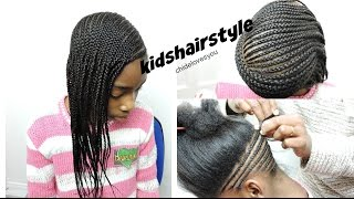 HOW TO : KIDS CORNROWS HAIRSTLYE | BEYONCE INSPIRED