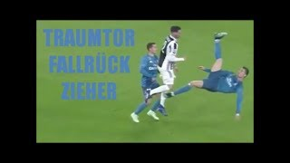 Cristiano Ronaldo mit sensationellem Traumtor per Fallrückzieher Juventus vs  Real Madrid 0:3 CL 18