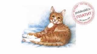 Нарисованные кошки видео  Как нарисовать красивую рыжую кошку карандашом за 21 секунду(О том как нарисовать кошку написано уже много. Но при этом всегда найдется человек, который с трудом предста..., 2014-07-21T05:14:07.000Z)