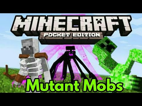 How To Summon ALL MUTANT MOBS!! In Minecraft Pe