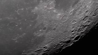 Crystal Clear 4K Moon Passage …