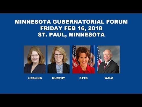 Gubernatorial Candidates Forum At MN AFL-CIO 2018 Campaign Conference