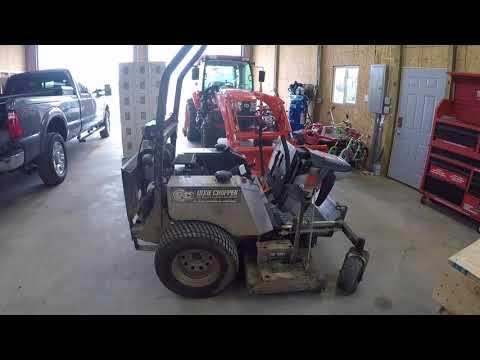 2012 Dixie Chopper oil change - YouTube