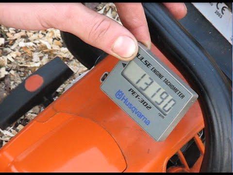 Регулировка карбюратора на бензопиле Stihl MS 230, MS 250