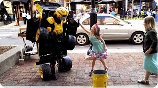 AMAZING Street Performer | Transformers Characters Come to Life
