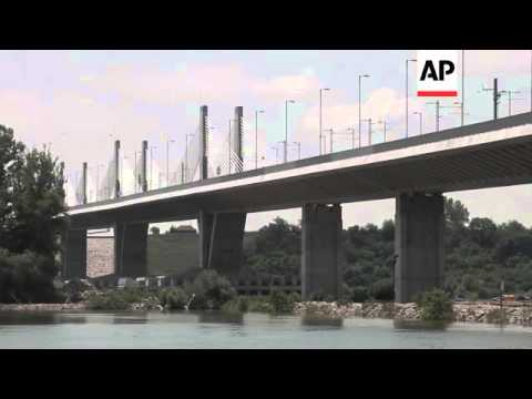 New bridge opens between Bulgaria and Romania