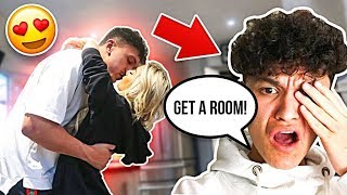 MAKING MY BROTHER FEEL UNCOMFORTABLE **PRANK**