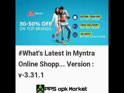 Latest Updates in Myntra Online Shopping App Android App Version 3 31 1 |  Free Download | News