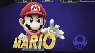 ESV Smash 4 Weekly #5 - Eclipse (Fox) vs Levendy (Mario) - WR2