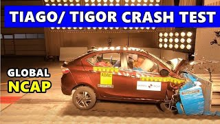 Tata Tiago/Tigor Crash Test Results?| Global NCAP | 4 stars⭐ #SafecarsforIndia | PR Moto Vlogs