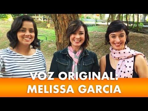 VOZ ORIGINAL: ENTREVISTA COM MELISSA GARCIA | MABEL CEZAR E RAYANI IMMEDIATO