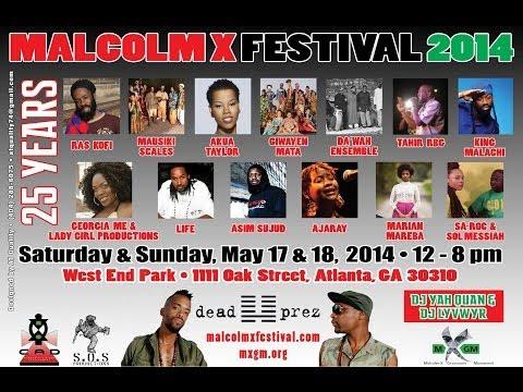 25th Annual Malcolm X Festival 2014 part 4 (Dead Prez)