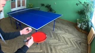 Лёгкие кручёные подачи в настольном теннисе