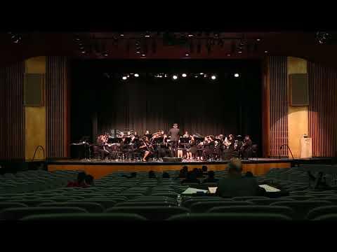 Santiago High School Concert Band - The Gladiator - 3/16/18 GGHS SCSBOA Festival