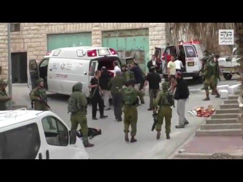 Extrajudicial killing in broad daylight, Hebron, March 2016