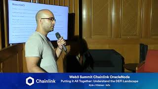 Chainlink Web3 Summit OracleNode: Putting it All Together: Understanding the DeFi Landscape