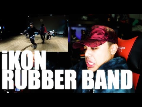 iKON - Rubber Band Dance practice Reaction [OOOOH! BODYROLLS!]