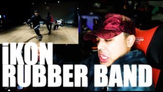 iKON - Rubber Band Dance practice Reaction [OOOOH! BODYROLLS!]