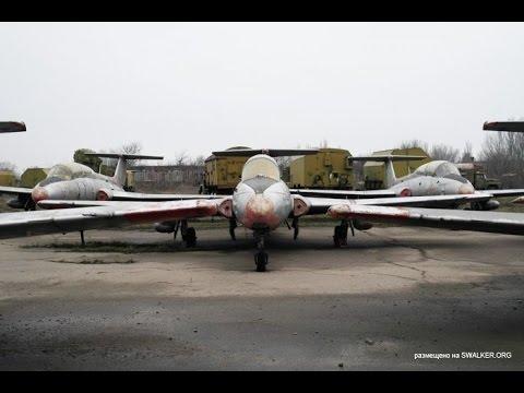 Кладбище реактивных самолетов!  воздушная мощь в Запорожье!