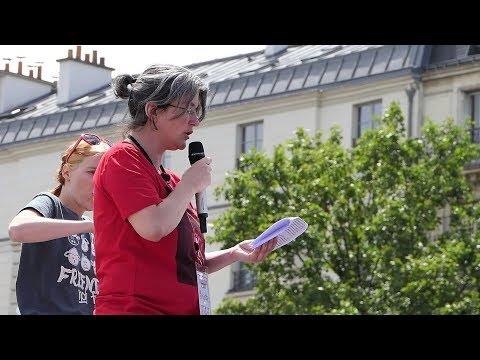 Marche pour la Fermeture des Abattoirs - L'intervention de Brigitte Gothière - Paris 2018