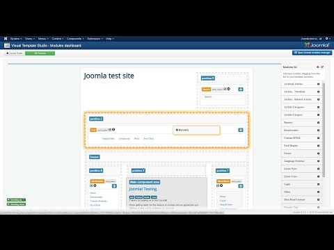 Visual Styles Modules For Joomla - Manage Modules And Styles The Right Way!