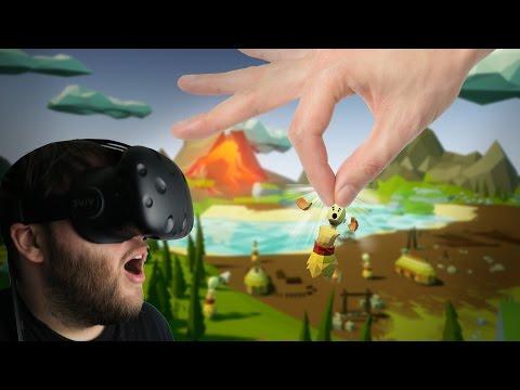 Becoming a VR God! - Super Island God VR Gameplay Part 1