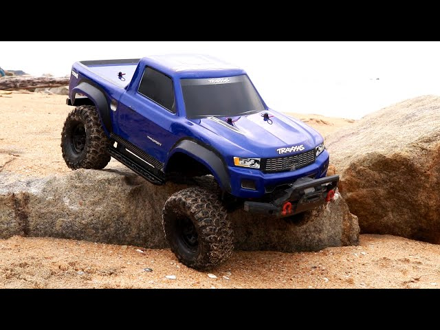 Rc Car Rock Off Road Adventure - Traxxas Trx4 Sand Ride