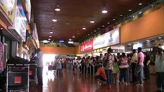 Kenya: Nairobi, Jomo Kenyatta International Airport (1/2) Arrival in Jan 2012