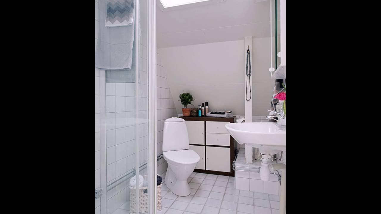 Kleine Badezimmer Design Stockholm