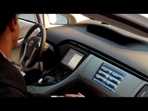Toyota Prius w/LTE (Long Term Evolution)