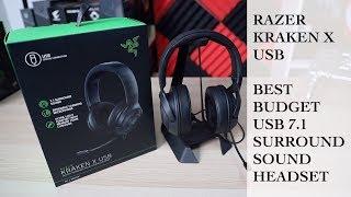 Razer Kraken X Usb Best Budget Usb 7 1 Surround Sound Gaming Headset Youtube